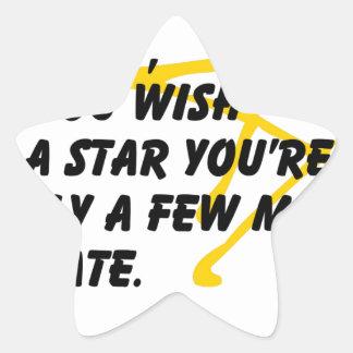 According to Astronomy Star Sticker