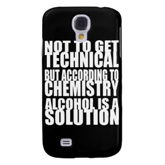 According to Chemistry Alcohol is a Solution HTC Vivid Cases