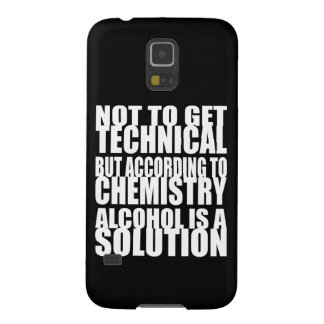 According to Chemistry Alcohol is a Solution Galaxy Nexus Cover