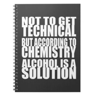 According to Chemistry, Alcohol is a Solution Notebook