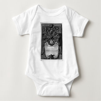According to Cover Up the papal coat of arms Baby Bodysuit