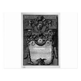 According to Cover Up the papal coat of arms Postcard