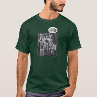 Accordion Amazonians' Army T-Shirt