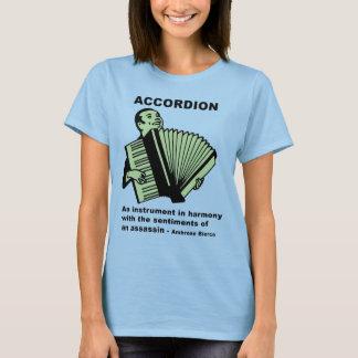 Accordion: Ambrose Bierce quote T-Shirt