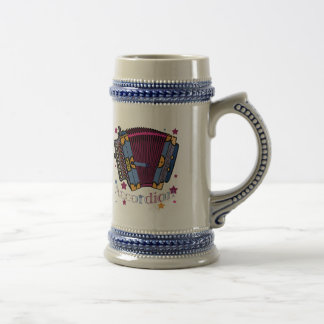 Accordion Beer Stein