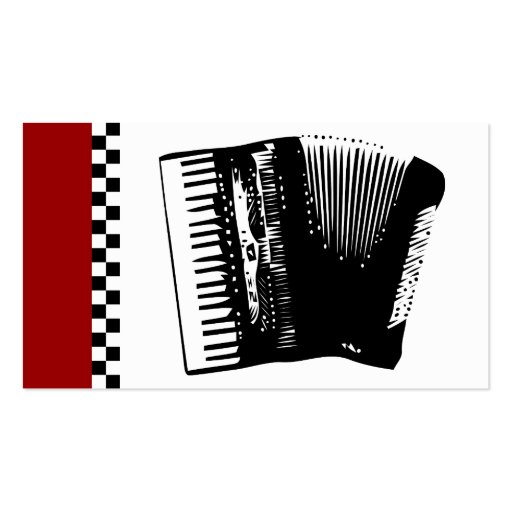 accordion double sided standard business cards pack of 100 zazzle. Black Bedroom Furniture Sets. Home Design Ideas