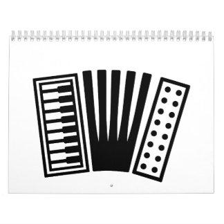Accordion Calendar