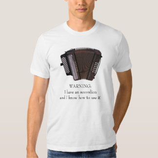 Accordion Caution Shirts