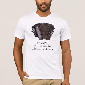 Accordion Caution T-Shirt