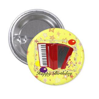 Accordion Celebration 1 Inch Round Button