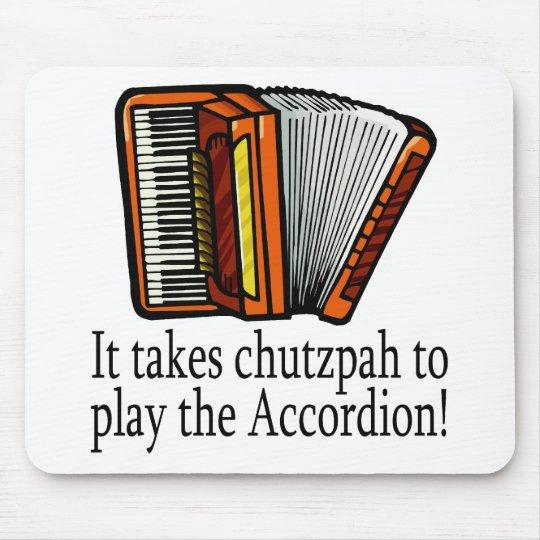 Accordion-chutzpah Mouse Pad