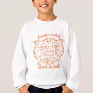 Accordion Cowboy Logo - Pink apricot Sweatshirt