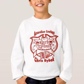 Accordion Cowboy Logo - Red Sweatshirt