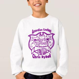 Accordion Cowboy Logo - Violet Sweatshirt