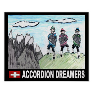 Accordion Dreamers Poster