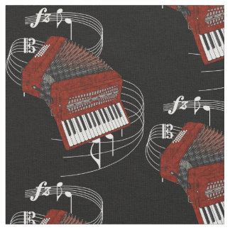 Accordion Fabric - Dark