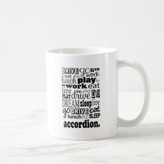 Accordion Gift Classic White Coffee Mug