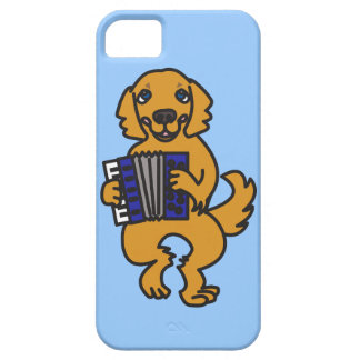 Accordion Golden Retriever iPhone SE/5/5s Case