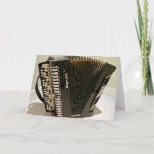 Accordion music cards zazzle accordion greeting card m4hsunfo