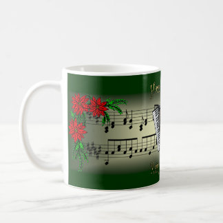 Accordion ~ Have Yourself A Merry Little Christmas Coffee Mug