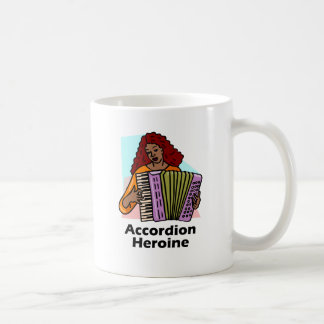 Accordion Heroine Coffee Mug