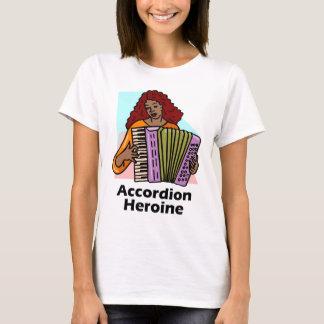 Accordion Heroine T-Shirt