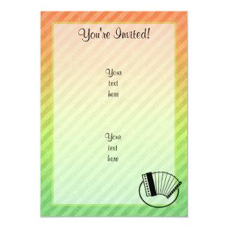 Accordion 5x7 Paper Invitation Card