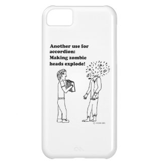 Accordion Makes Zombies Explode Cover For iPhone 5C