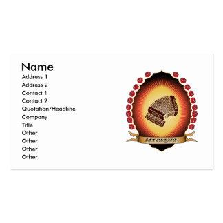 Accordion Mandorla Business Card