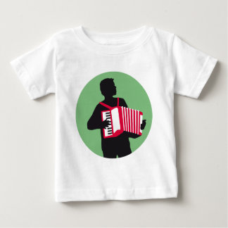 Accordion more player baby T-Shirt