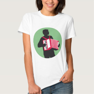 Accordion more player shirt