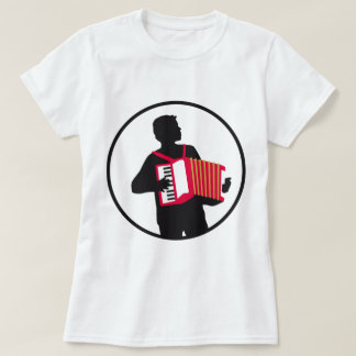 Accordion more player T-Shirt