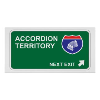 Accordion Next Exit Poster