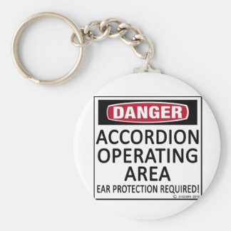 Accordion Operating Area Keychain