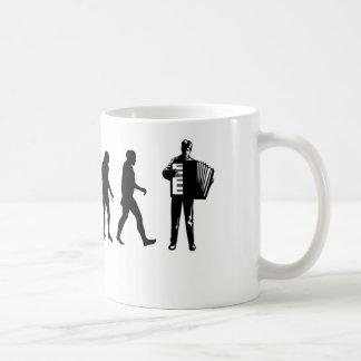 Accordion Player Classic White Coffee Mug