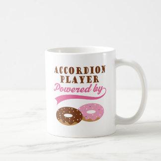 Accordion Player Funny Gift Classic White Coffee Mug