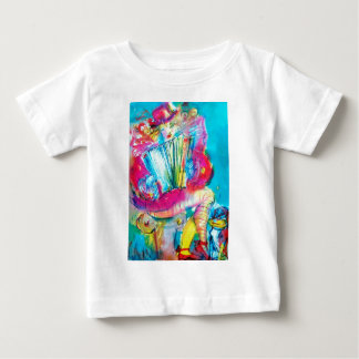 ACCORDION PLAYER IN THE NIGHT BABY T-Shirt