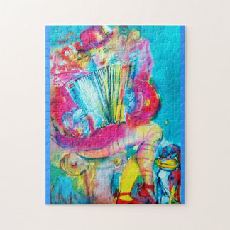 ACCORDION PLAYER IN THE NIGHT JIGSAW PUZZLE