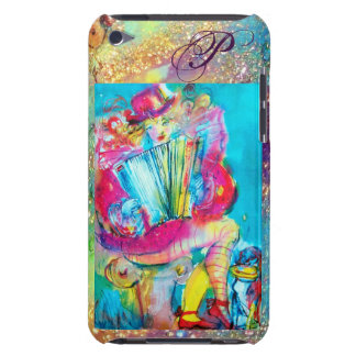 ACCORDION PLAYER IN THE NIGHT MONOGRAM iPod Case-Mate CASE