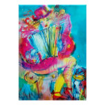 ACCORDION PLAYER IN THE NIGHT POSTER