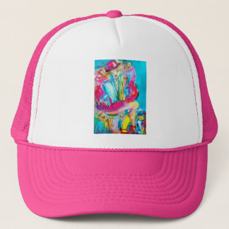 ACCORDION PLAYER IN THE NIGHT TRUCKER HAT