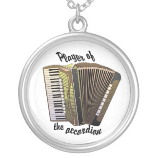 Accordion Player necklace