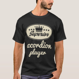 Accordion Player vintage logo T-Shirt