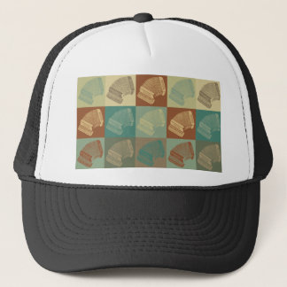 Accordion Pop Art Trucker Hat
