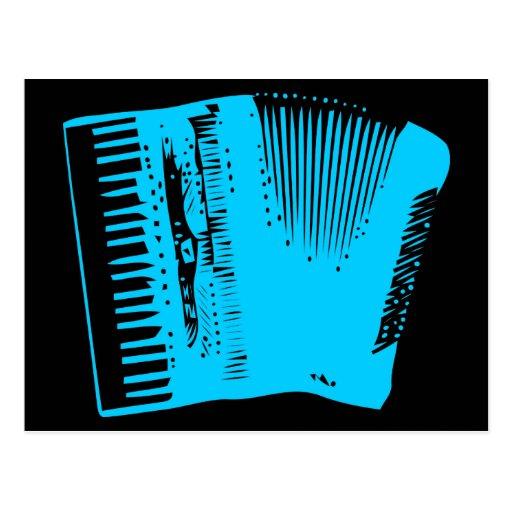 accordion postcards