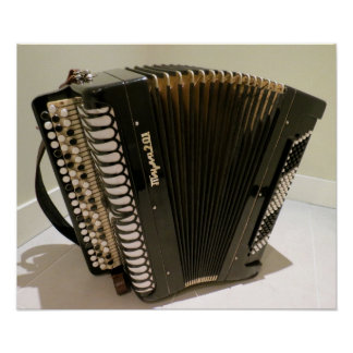 Accordion poster print