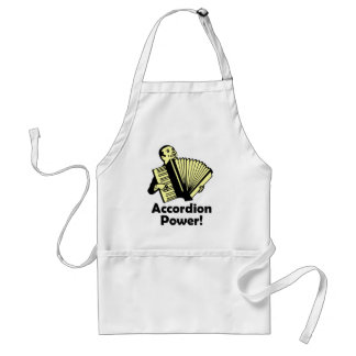Accordion Power! Adult Apron