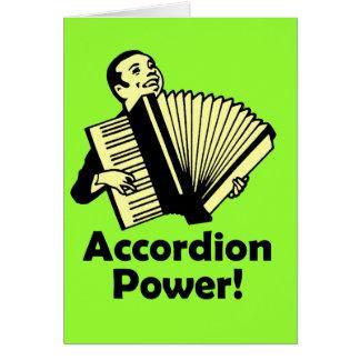 Accordion Power! Card