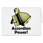 Accordion Power! Greeting Card