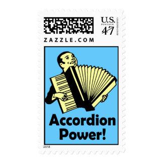 Accordion Power! Postage